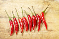 Red Chilli Peppers Stock Photo - 55802700