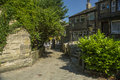 Haworth Street Scene, West Yorkshire, England Royalty Free Stock Photography - 55809427