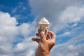 Melting Ice Cream. Royalty Free Stock Photo - 55811225
