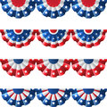 US Bunting Decoration Royalty Free Stock Images - 55816819