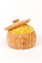 Pile Of Corn Grits Royalty Free Stock Image - 55866596