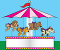 Carousel Royalty Free Stock Images - 55869229