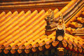 Yellow Chinese Temple Roof Royalty Free Stock Images - 5591379