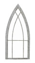 Old Arched Window Frame Isolated Royalty Free Stock Photo - 55905295