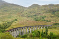 Glenfinnan Viaduct, Scotland Royalty Free Stock Image - 55910406
