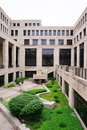 Indiana Government Center: Garden Royalty Free Stock Photography - 55925357