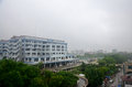 Cityscape Of Mandalay City While Rainning Time In Mandalay, Myanmar Stock Photos - 55937983