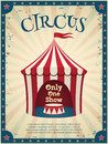 Vintage Circus Poster Royalty Free Stock Photo - 55943315