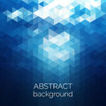 Abstract Triangles Pattern Background. Blue Water Geometric Back Royalty Free Stock Photography - 55943517
