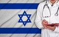 Doctor And Israel Flag Royalty Free Stock Photos - 55947938