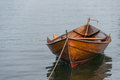 Moored Row Boat Stock Photo - 55956310