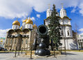 Tsar Cannon In The Moscow Kremlin, Russia Royalty Free Stock Photo - 55967445