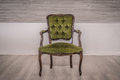 Victorian Chair In A Living Room Stock Photo - 55970500