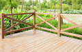 Wooden Deck Wood Patio Outdoor Garden Terrace Balcony Royalty Free Stock Photo - 55979235