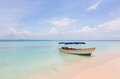 Boat On The Beach Royalty Free Stock Photo - 55987425