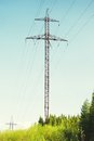 High-voltage Tower Stock Photography - 55989642