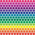 Rainbow Polka Dots Stock Images - 5604994
