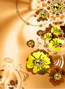 Abstract Flowers Background Royalty Free Stock Images - 5608389