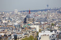 Paris From Top Royalty Free Stock Photo - 56003405