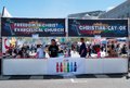 Pride Weekend In San Francisco, Church Accepting Gay Marriage Stock Photography - 56009622