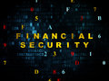 Privacy Concept: Financial Security On Digital Stock Photography - 56015012