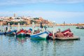 Fishing Boats In Rabat, Morocco Stock Photo - 56039360