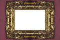 Golden Picture Frame Royalty Free Stock Images - 56056519