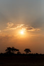 African Sunset Royalty Free Stock Photography - 56060437