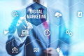 Digital Marketing Stock Image - 56061911