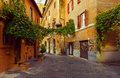 Old Street In Trastevere In Rome Royalty Free Stock Photo - 56062765