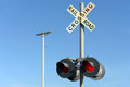 Railroad Crossing Sign Royalty Free Stock Image - 56076796