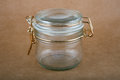 Empty Glass Jar Royalty Free Stock Images - 56111049