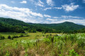 Farmland With Mountains Royalty Free Stock Image - 56112456