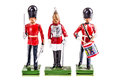 Regiment Of Tin British Guards Royalty Free Stock Photos - 56134968