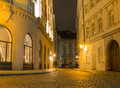 Streets Of Prague Royalty Free Stock Photos - 56158658