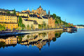 Stockholm  Early Summer Morning Royalty Free Stock Photos - 56173148