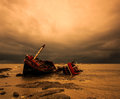 Shipwreck Stock Images - 56175424