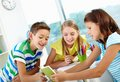 Curious Kids Royalty Free Stock Image - 56185536