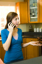 Woman On The Phone Stock Photography - 5621472