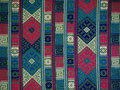 Hand Woven Textile Background, Bhutan Stock Photo - 56224070