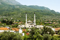Mosque Near The Old Town Of Bar In Montenegro On A Summer Day Stock Images - 56228754