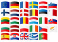 Icons Of Flags Of The European Union Royalty Free Stock Photos - 56231668