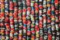 Installation Of Crushed Cans Stock Image - 56267451