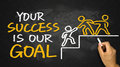 Your Success Is Our Goal Royalty Free Stock Images - 56274289
