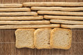 Breadsticks And Toasts Stock Photos - 56278673
