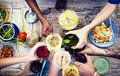 Food Table Healthy Delicious Organic Meal Concept Stock Photo - 56299680
