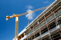 Construction Site With Crane Royalty Free Stock Photography - 5632577