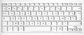 Close Up Of A White French Azerty Computer Keyboard Stock Images - 56317474