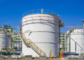 Storage Tank Stock Image - 56325391