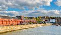 View Of Newhaven Harbour In Edinburgh Royalty Free Stock Photo - 56328965